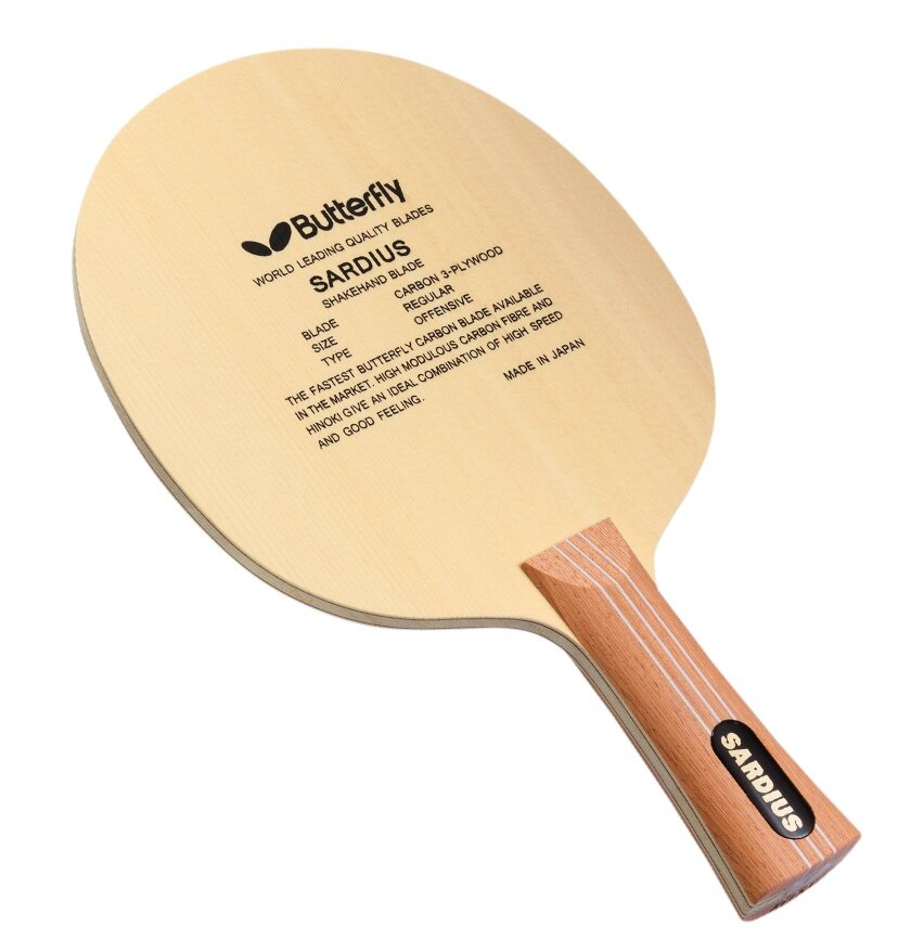 and ST Handle Type an Made in Japan 7-ply All-Wood Blade FL Timo Boll W7 Blade Professional Table Tennis Blade Butterfly Timo Boll W7 Blade Table Tennis Blade