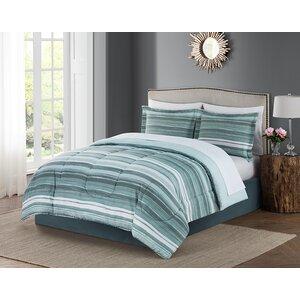 Bruno 8 Piece Reversible Comforter Set