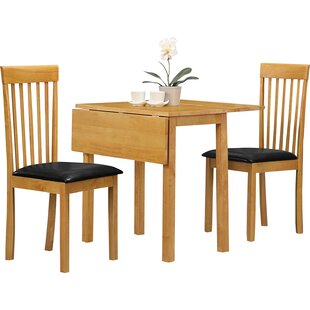 Free S&H Petrolia Extendable Dining Set With 2 Chairs