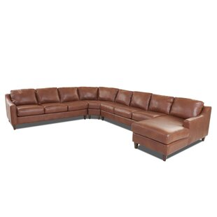 Phenomenal Jesper Leather Sectional With Chaise Machost Co Dining Chair Design Ideas Machostcouk