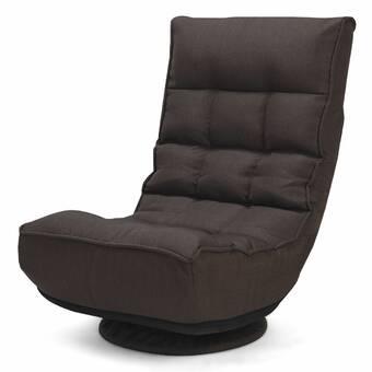 Remarkable Brayden Studio Joleen Modern Round Swivel Lounge Chair Wayfair Machost Co Dining Chair Design Ideas Machostcouk