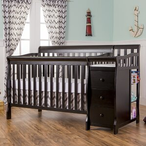 Brody 5 In 1 Convertible Crib And Changer Combo