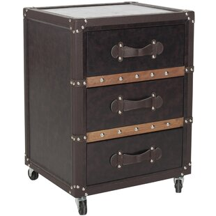 Norman 3 Drawer Accent chest