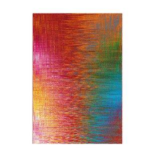 Move Flatweave Orange/Red/Blue Rug by Kayoom