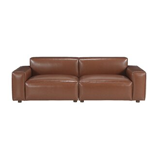 Bobby Berk Upholstered Olafur 2 Piece Modular Sofa Sectional By A.R.T. Furniture in , Brown by Bobby Berk + A.R.T. Furniture SKU:ED768273 Guide