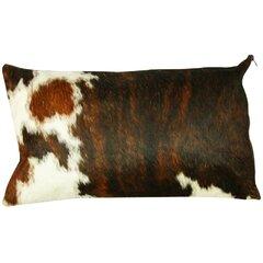 Cowhide Pillow Cover Throw Pillows You Ll Love In 2021 Wayfair