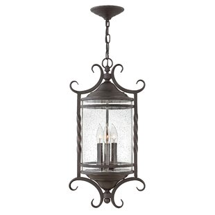 Best Price Casa 3-Light Outdoor Hanging Lantern By Hinkley Lighting
