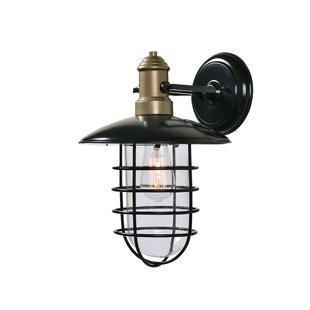 Comparison Jae 1-Light Outdoor Wall Lantern By Williston Forge