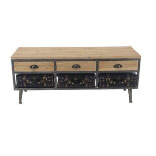 17 Stories Yue Modern Storage Bench