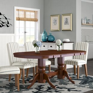 Varela Oval Solid Wood Dining Table Breakwater Bay