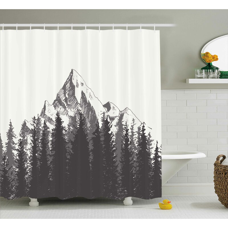 Ayers Native American Art Shower Curtain