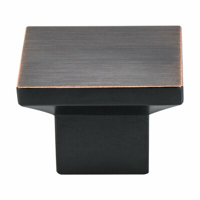 Berenson Elevate Square Knob Color: Verona Bronze