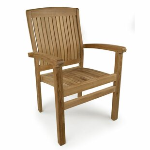 Harston Teak Stacking Chair by Caracella