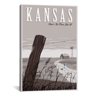 Wizard Of Oz Kansas Duo By Steve Thomas Graphic Art On Wrapped Canvas