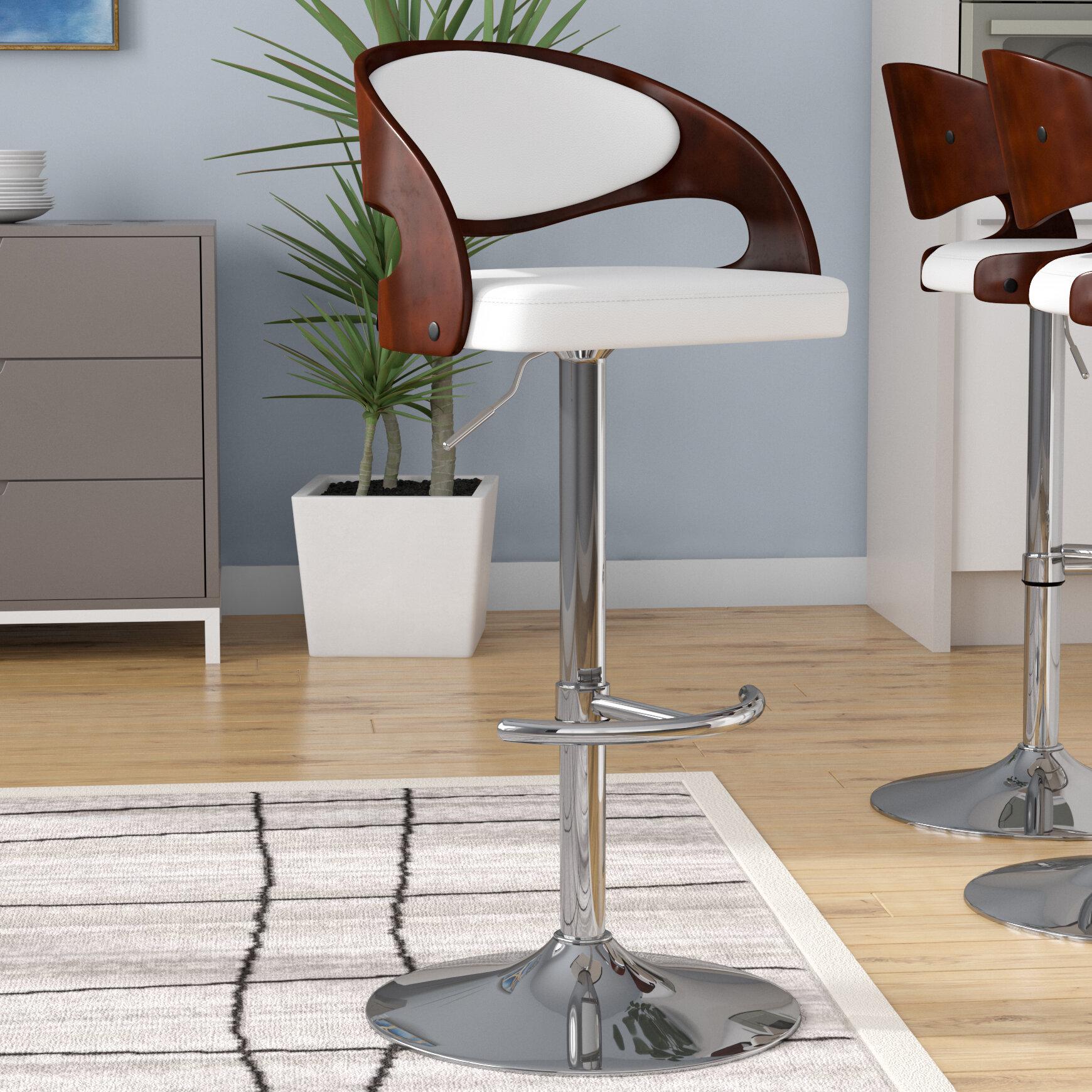 Stupendous Lanesboro Adjustable Height Swivel Bar Stool Machost Co Dining Chair Design Ideas Machostcouk