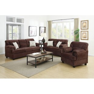 Purchase Ferrara 3 Piece Living Room Set by Red Barrel Studio Reviews (2019) & Buyer's Guide