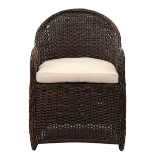 Darwin Patio Chair With Cushion by Bungalow Rose Great Reviews