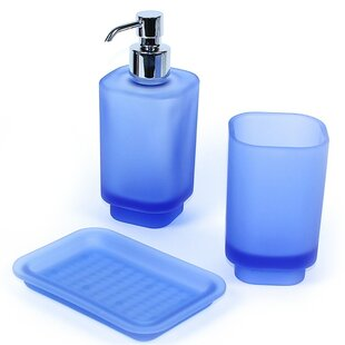 Gedy by Nameeks Joy 3-Piece Bathroom Accessory Set