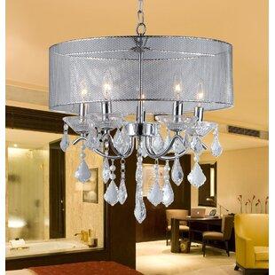 House of Hampton Karole 5-Light Chandelier