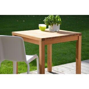 Whitt Wooden Bistro Table Image