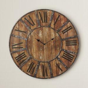 Large Decorative Wall Clock wall clocks you'll love | wayfair