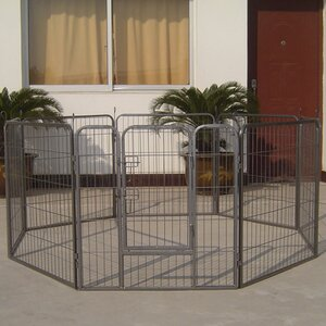 Heavy Duty Metal Tube Exercise & Training Dog Pen
