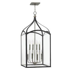 Jeremie 8-Light Foyer Lantern Pendant by Gracie Oaks