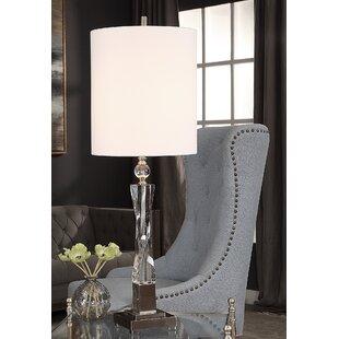 Biddlestone Twisted Crystal 38 Table Lamp