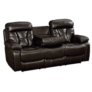 Ellenton Reclining Loveseat  sc 1 st  Wayfair : black leather recliner loveseat - islam-shia.org