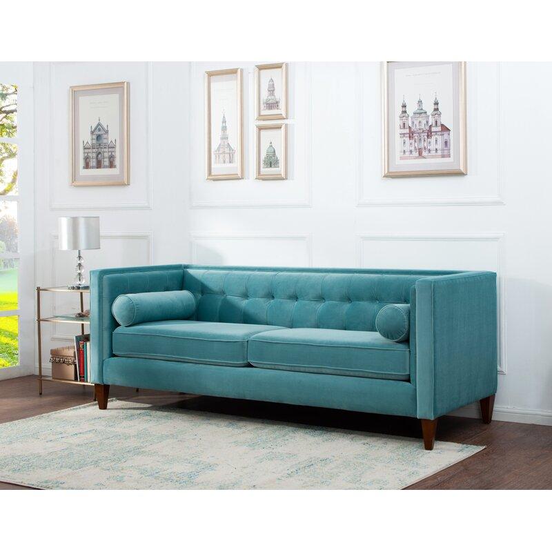 Pineview Tuxedo Chesterfield Sofa