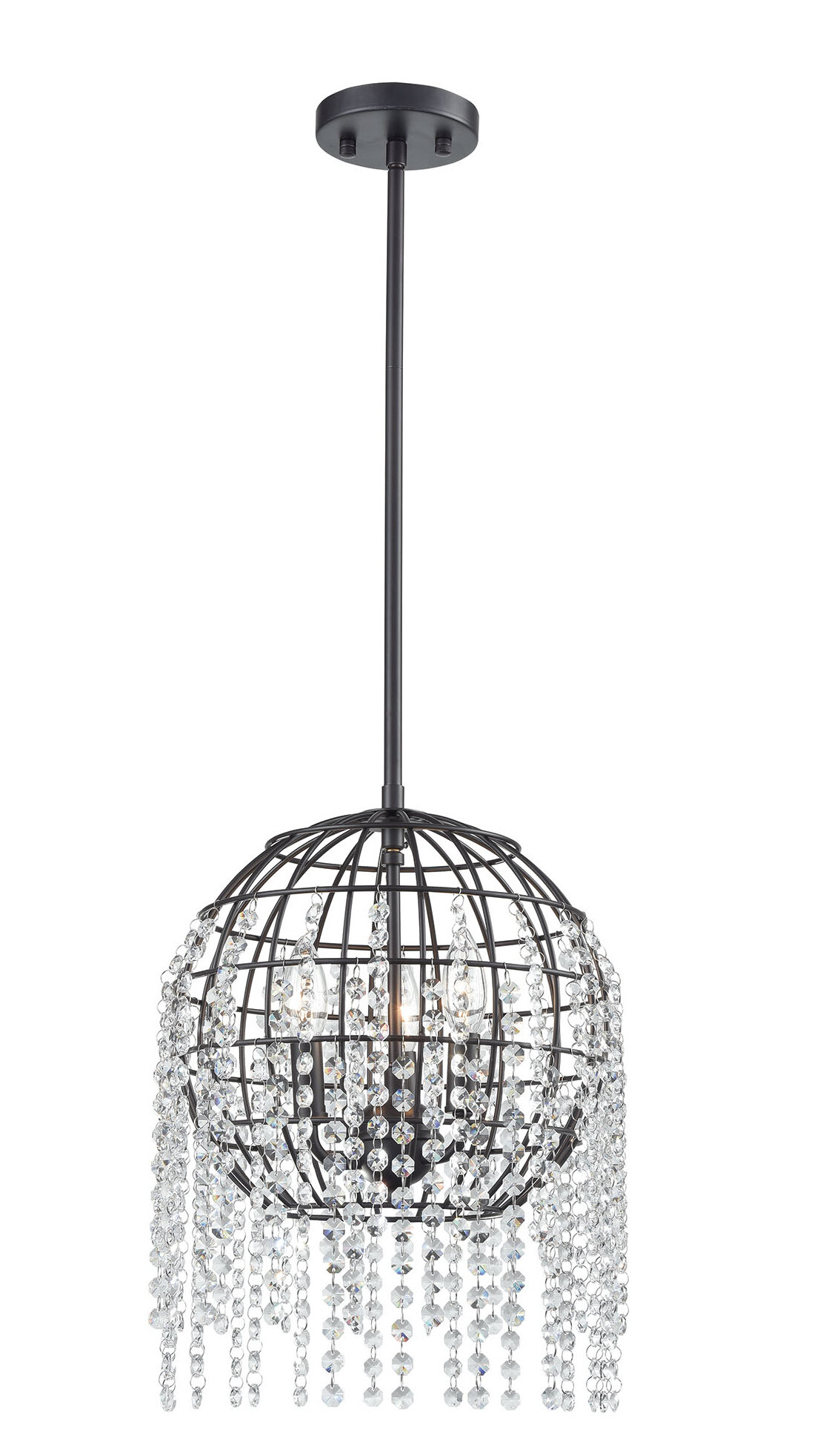 Laurel Foundry Modern Farmhouse Dublin 3 Light Unique Statement Chandelier Wayfair