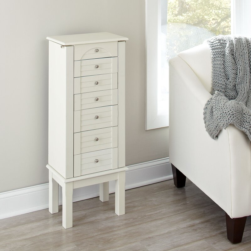 Birch Lane Caine Jewelry Armoire Reviews Birch Lane