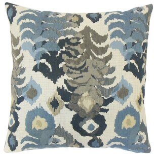 Henriette Ikat Throw Pillow