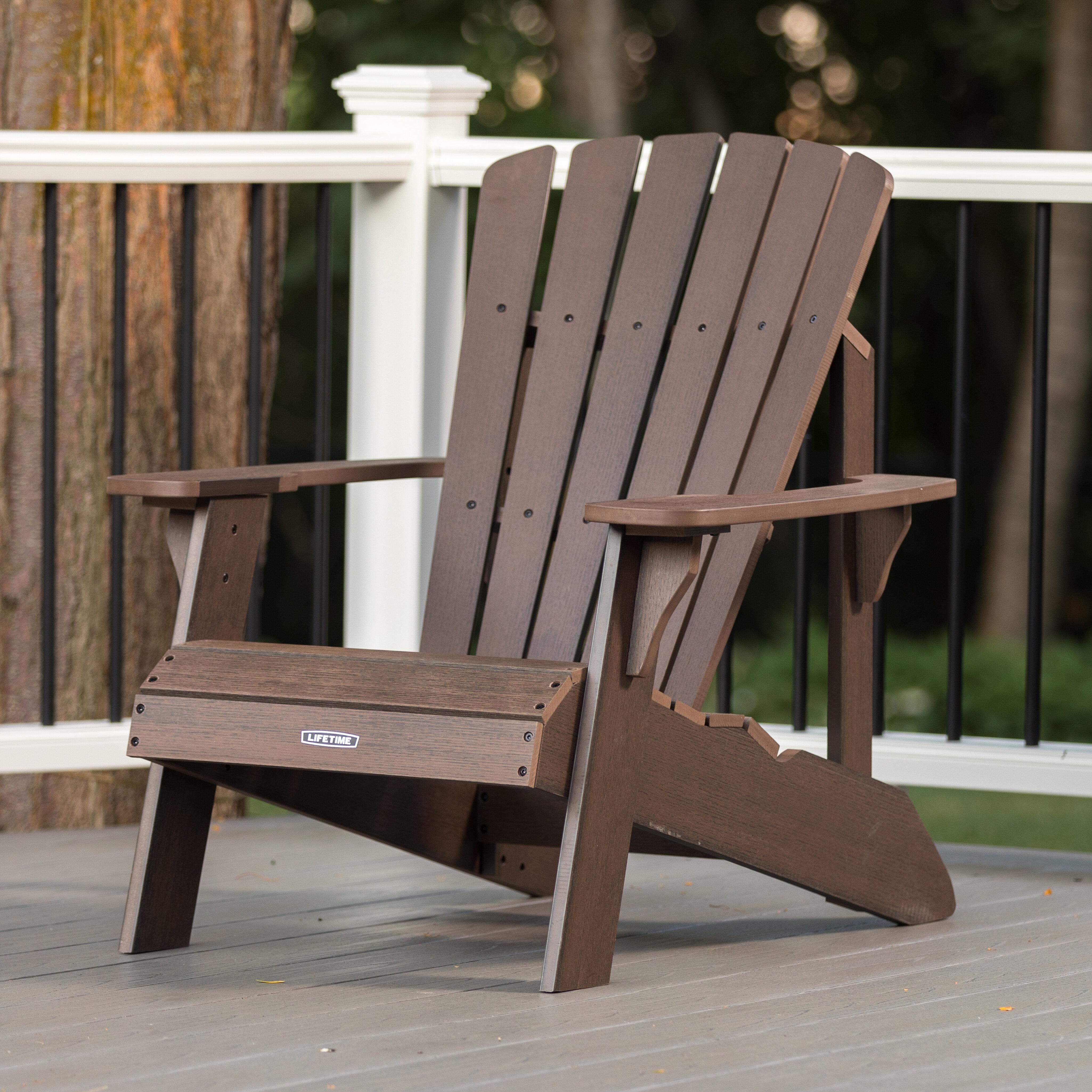 Picture of: Plastic Resin Adirondack Chair Reviews Joss Main