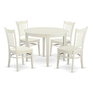 Boston 5 Piece Dining Set Wooden Importers
