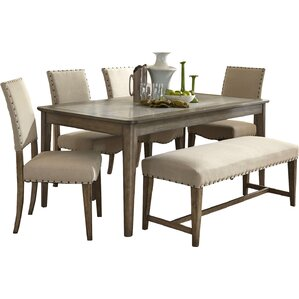 Amity 6 Piece Dining Set by Lark Manor