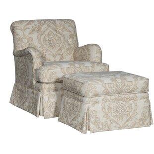 One Allium Way Pisano Club Chair and Ottoman