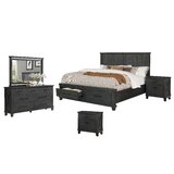 Gutshall Platform 5 Piece Bedroom Set by Gracie Oaks