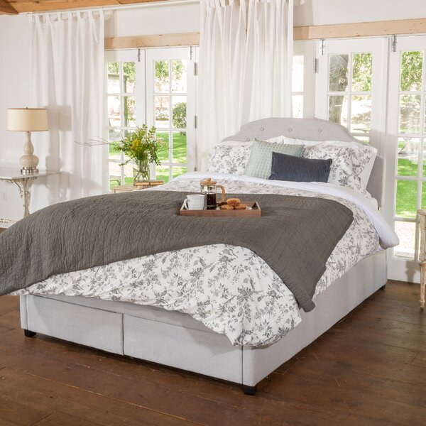 Darby Home Co Arana Upholstered Storage Panel Bed | Wayfair