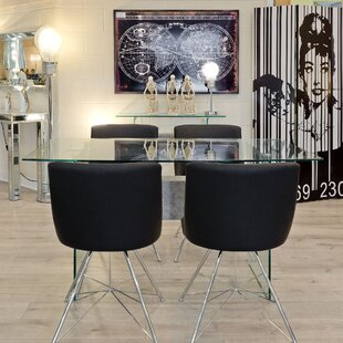 Ruby Dining Set With 4 Chairs By Wade Logan
