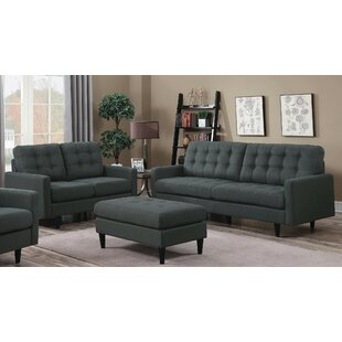 Price comparison Fabrizio 3 Piece Living Room Set by George Oliver Reviews (2019) & Buyer's Guide