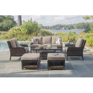 Trenton Deep Sunbrella Sofa Seating Group