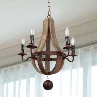 Gracie Oaks Robbins 5-Light Empire Chandelier