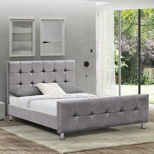 Elicia Upholstered Bed Frame By Rosdorf Park