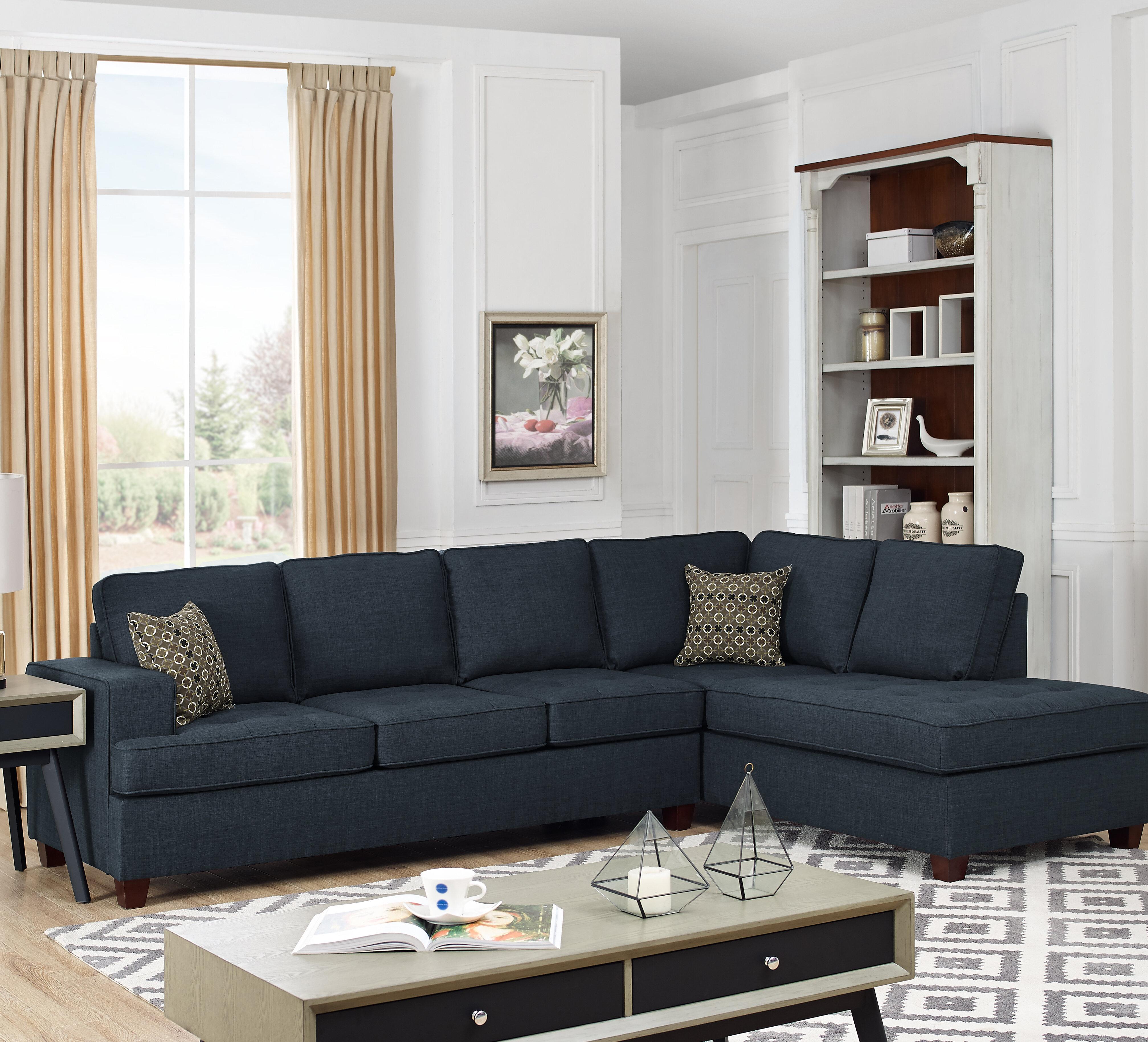 Remarkable Red Barrel Studio Samaira Sleeper Sectional Reviews Wayfair Machost Co Dining Chair Design Ideas Machostcouk