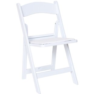 Read Reviews Vinson Vinyl Padded Folding Chair (Set of 4) by Symple Stuff Reviews (2019) & Buyer's Guide