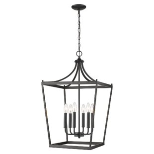 Rancourt 6-Light Lantern Pendant by Charl..