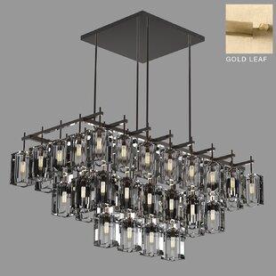 Monceau 40-Light Square/Rectangle Chandelier by Fine Art Lamps