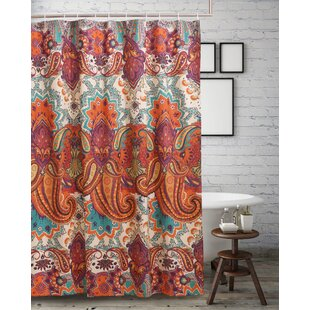 Compare prices Roskilde Spice Shower Curtain By World Menagerie