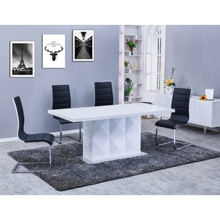 Melia 5 Piece Dining Set Orren Ellis
